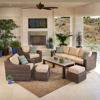 Mission Hills® Brandemore 6-Piece Sofa Set $3,999 Costco