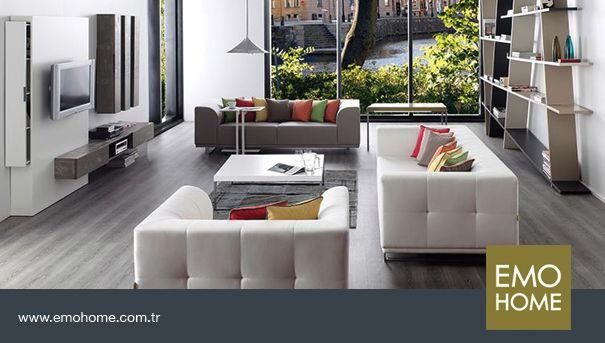 Nero duvar ünitesi ile evinizdeki şıklığı tamamlayın. #emohome #tasarım #kalite #modern #şık #home #homedesing #design #modernfurniture #decoration