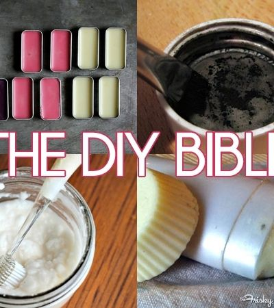 The DIY Bible: 33 Recipes For All Of Your Cosmetics, Beauty & Home Care Needs (With A Shopping List!) - The Frisky