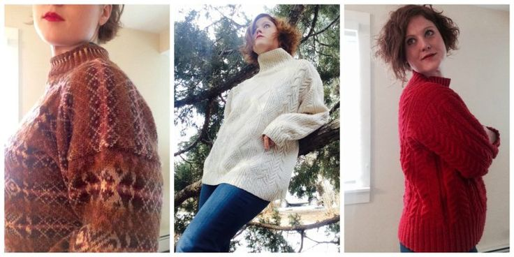 Four different sweaters you should knit before you die
