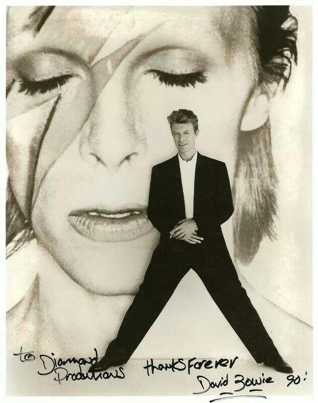 David Bowie ... Another musical pioneer gone too soon. You will be sadly missed, David Bowie. RIP...