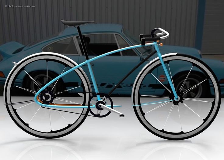 911-inspired bike concept for Fast Co Design competition. Hot.