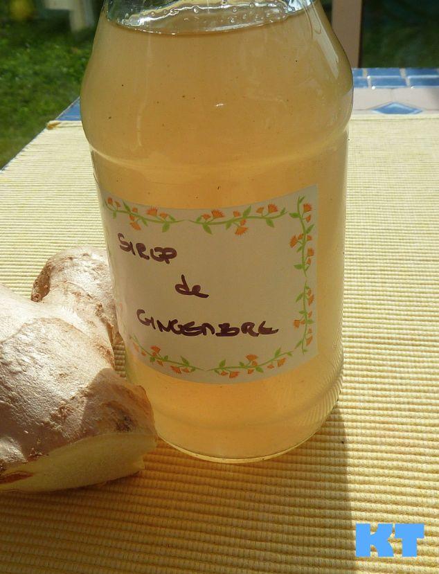 Ingrédients  50g de gingembre 500g de sucre 1,5 litre d'eau 1 cac de vanille en poudre 1 baton de cannelle 2 clous de girofle  Hacher le gin...