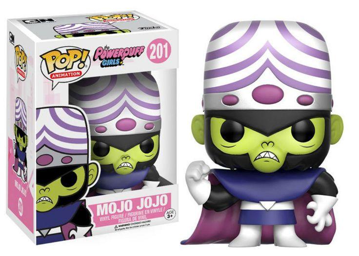 TOY: Funko Pop! Bobble-Heads: The Powerpuff Girls. BY: Funko Pop!. CHARACTER: Mojo Jojo. http://www.madhotcomicsplus.com/mojojojo.html
