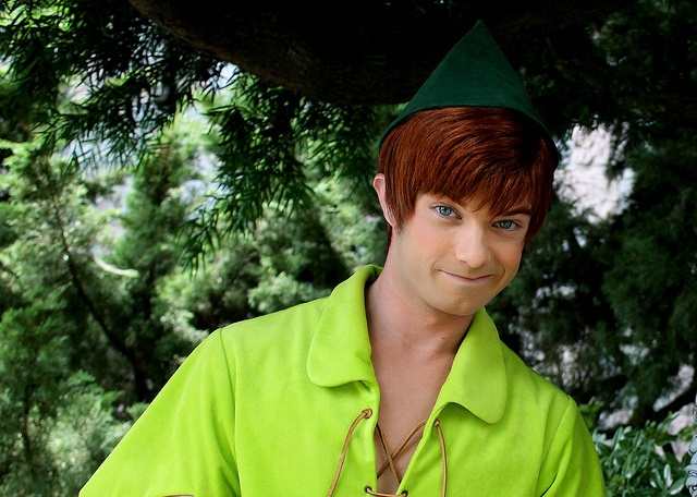Perfect Peter Pan photo by #RebeccaVanLoon