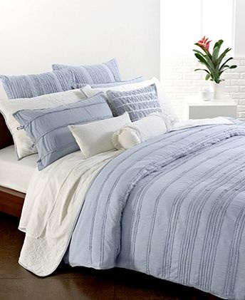 donna karan bedding pure dkny innocence stripe collection bedding collections bed u0026 bath