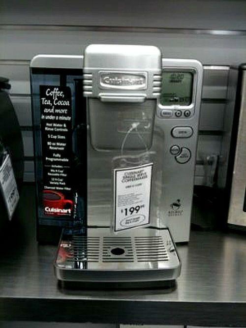 Countertop Microwave Walmart Canada : Ss-700 Ss-700bk Single Serve Cuisinart Good Working Silver Keurig K ...