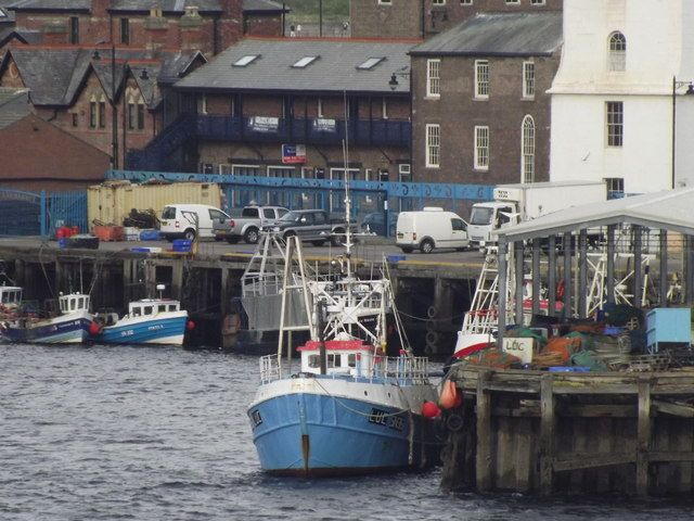 Boat at North Shields Fish Quay by Colin Smith