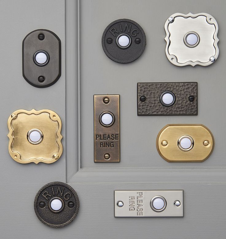 Doorbell Buttons | Rejuvenation