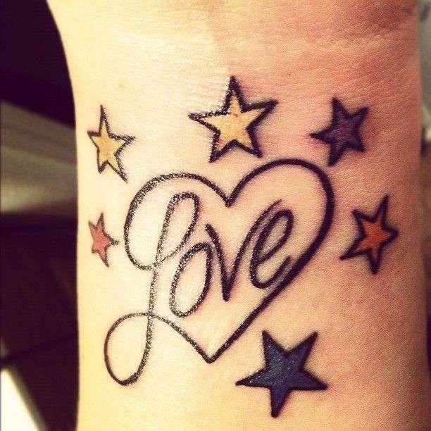 abbastanza Oltre 25 fantastiche idee su Tatuaggi di stelle su Pinterest  VD56