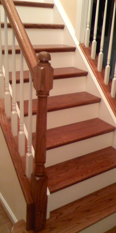 Best Redo Of Carpeted Stairs For Our Casa Pinterest Stair 400 x 300