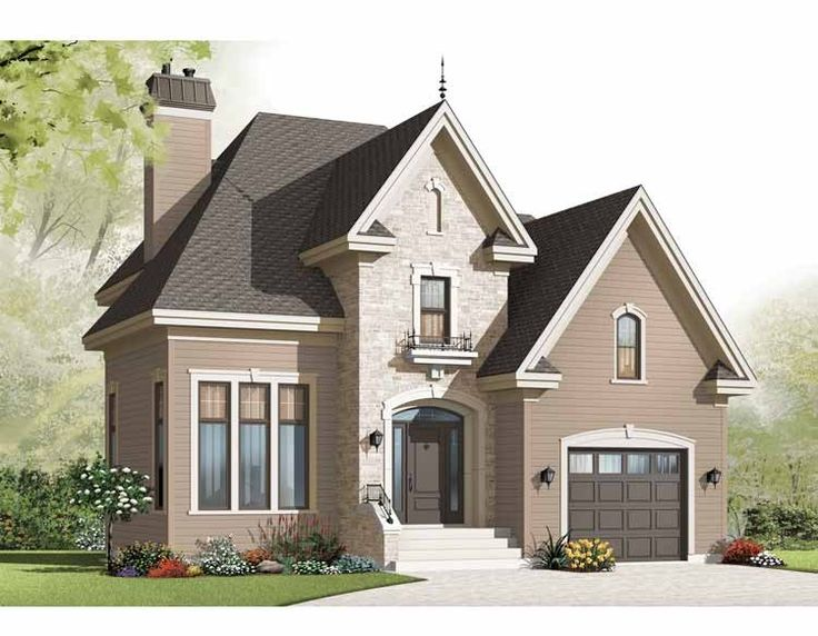 Best Rick House Plans Images On Pinterest Home Plans Country - European homes and house plans