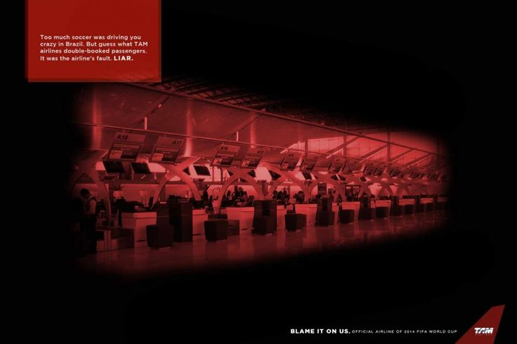 TAM Airlines - Blame it on us, 1