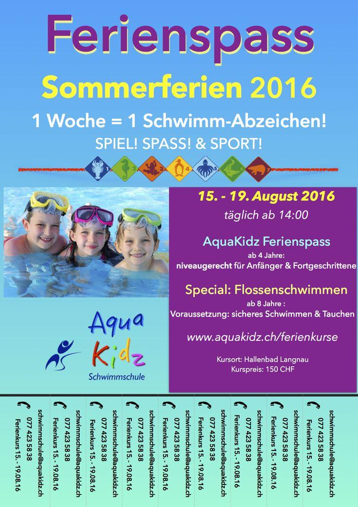 AquaVacation - Spiel! Spass! Sport! Die coolen Ferienkurse von und mit den AquaKidz!