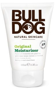 Bulldog Original Moisturizer for Men - There are hundreds of male grooming products out there, but, for Bulldog Natural Skincare, they just weren't cutting the mustard. All they wanted were natural products that got the job done hassle free. Bulldog products never contain parabens, sodium laureth sulfate, artificial colours, synthetic fragrances, or ingredients from animal sources. Cruelty free certified & suitable for vegetarians & vegans.