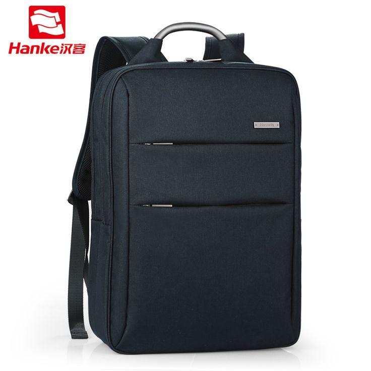 HANKE Laptop Backpack Business School Bag 16'' 17'' Women Men's Bags 2017 Travel Rucksack  Waterproof Backpacks for Teenagers