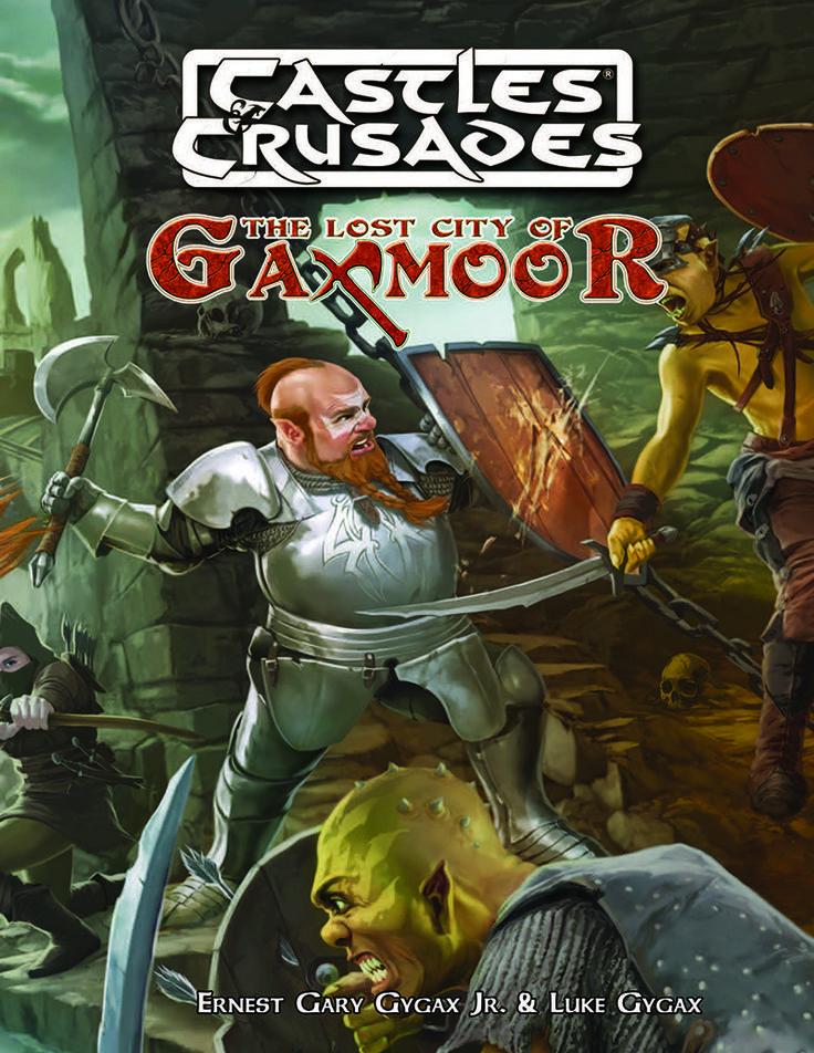 Castles & Crusades Lost City of Gaxmoor Print
