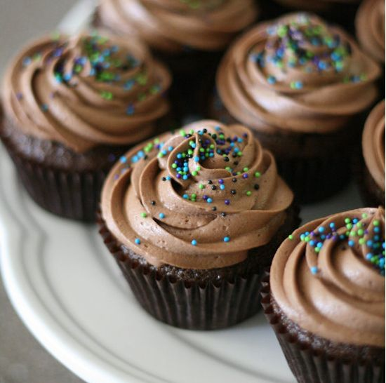 THE BEST {and easiest!!} Chocolate Frosting + Birthday Cake!