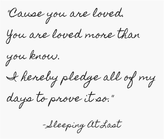 Light by Sleeping At Last. Such a pretty song