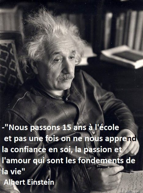 #citation #Einstein #éducation