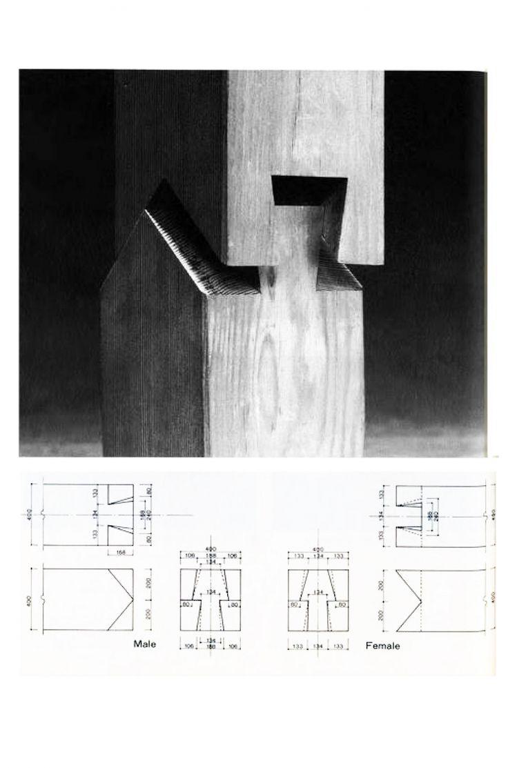 En Detalle: Especial / Los ensambles de madera en la arquitectura jponesa…