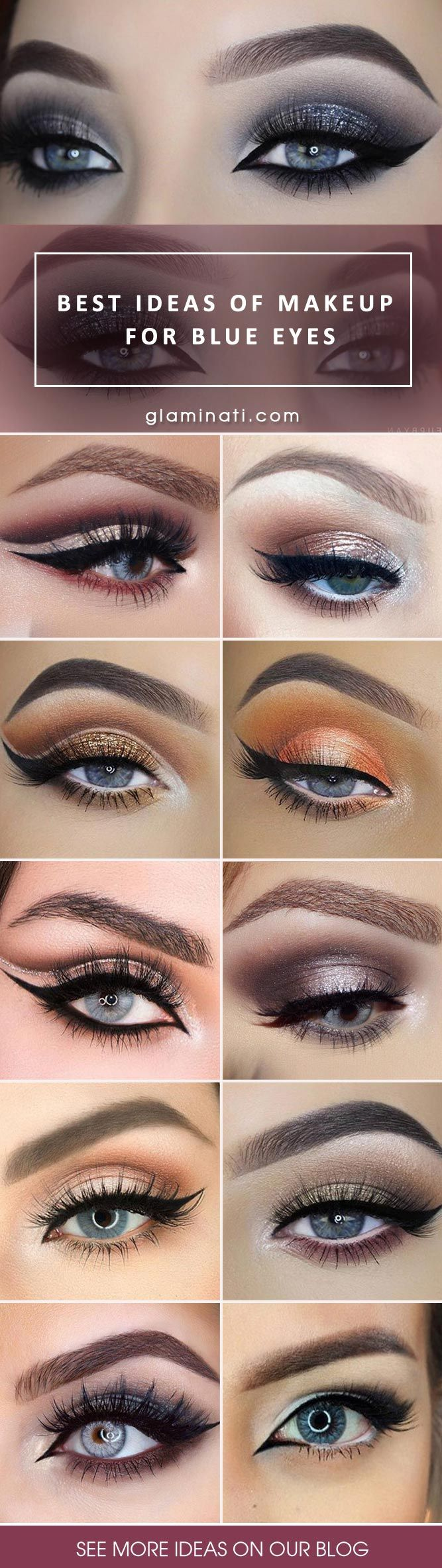 Best Ideas of Makeup for Blue Eyes