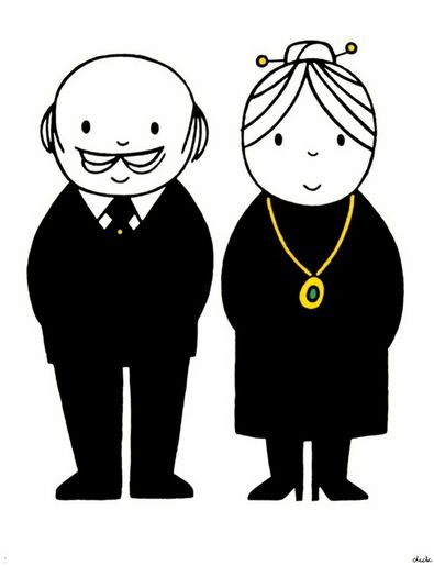'Oma & Opa' - by Dick Bruna