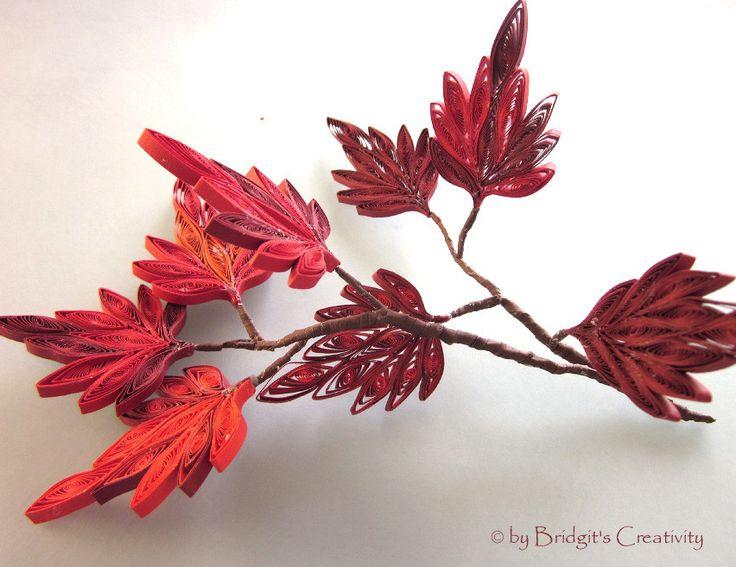 19 besten quilling herbst quilling autumn bilder auf pinterest bl tter r schenblumen und. Black Bedroom Furniture Sets. Home Design Ideas