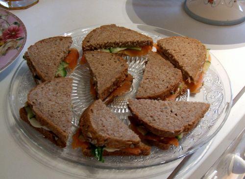 Les 25 meilleures id es de la cat gorie mini sandwichs sur pinterest amuse gueules de mariage - Idee de sandwich froid ...