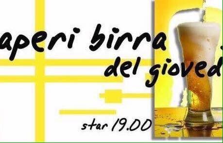 Speciale AperiBirra all'insegna del ventunesimo anniversario di compleanno ..  Vieni a trascorrere la serata con noi in omaggio per te la prima birra (Grimbergen double rossa 0.20) ..