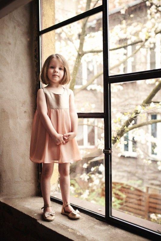 dziewczynka - moda - sukienki-Sun veil