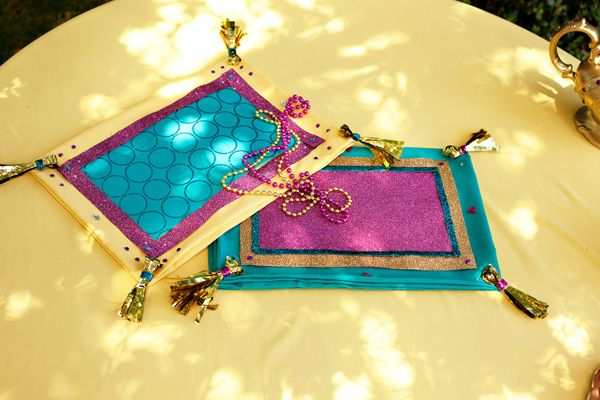 DIY Tutorial: Princess Jasmine's Magic Carpet // Hostess with the Mostess®