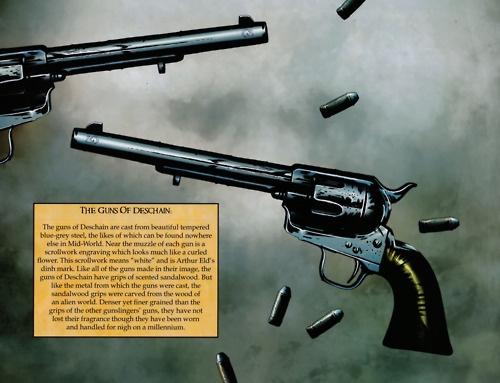 Roland's guns.--LOVE the Dark Tower books