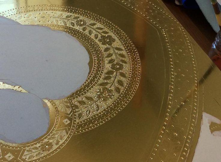 Grazia Sgrilli  - złocenie