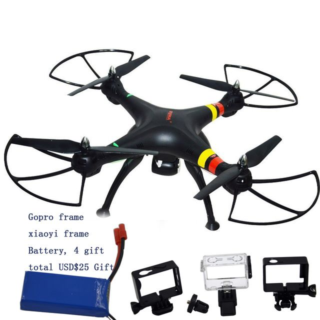 Syma X8W FPV WiFi 2MP Camera 2.4G 4ch 6 Axis Quadcopter RC helicopter fit for Gopro Hero 3 4 and Xiaoyi action camera 5 gift US $112.00 /piece To Buy Or See Another Product Click On This Link  http://goo.gl/EuGwiH