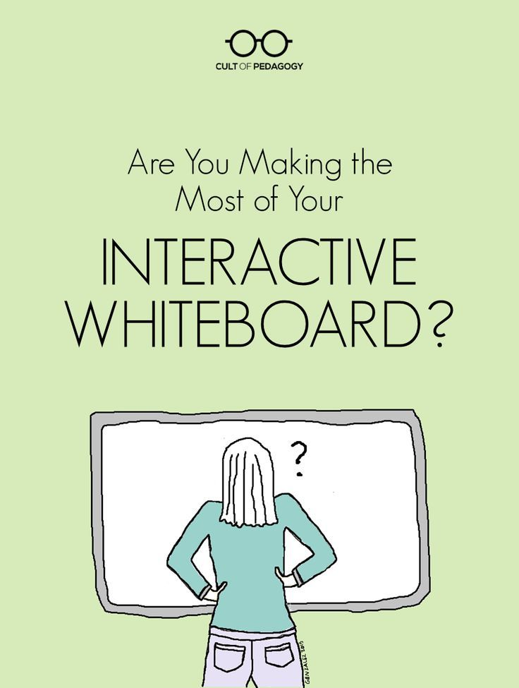 Are You Making the Most of Your Interactive Whiteboard?