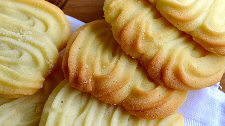 Come preparare Frolla montata per sparabiscotti col Bimby della Vorwerk, impara a preparare deliziosi piatti con le nostre ricette bimby