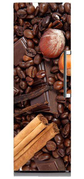 Kawowe inspiracje na lodówce. #matamagnetyczna #lodowka #kuchnia #design #dekorujemy #kawa