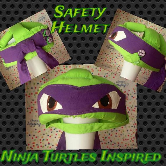 Check out this item in my Etsy shop https://www.etsy.com/listing/477007932/ninja-turtles-inspired-safety-helmet