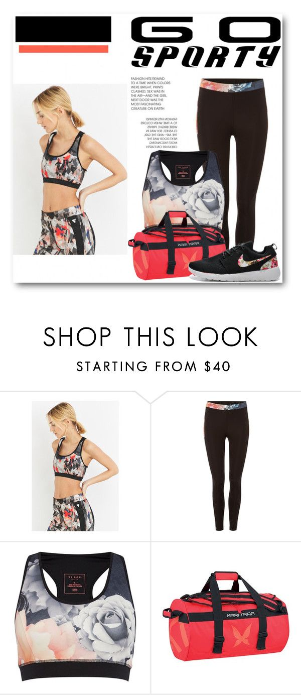"""""""Bez naslova #16"""" by corner-for-girls ❤ liked on Polyvore featuring Y.A.S Sport, Ted Baker, Kari Traa and sportystyle"""
