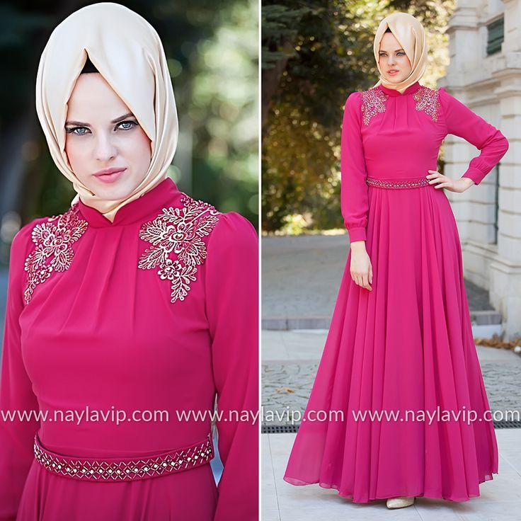 EVENING DRESS - EVENING DRESS - 2156F #hijab #naylavip #hijabi #hijabfashion #hijabstyle #hijabpress #muslimabaya #islamiccoat #scarf #fashion #turkishdress #clothing #eveningdresses #dailydresses #tunic #vest #skirt #hijabtrends