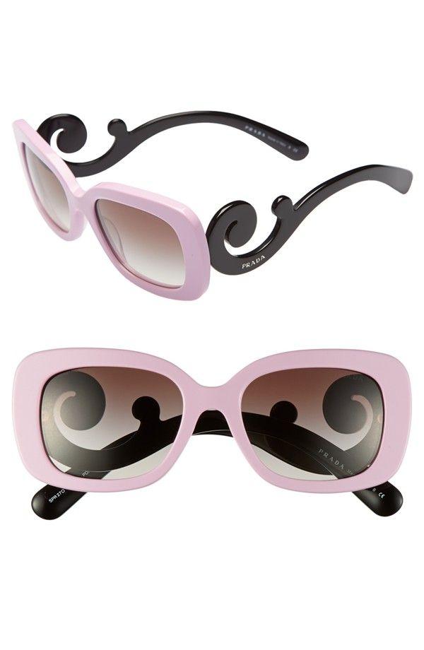 Prada 'Baroque' 54mm Sunglasses