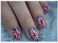britse vlag nagels