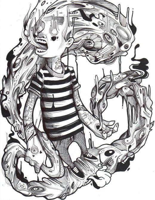 Neto Zamora is an Illustrator, Graffiti Artist and Graphic Designer based in Monterrey, Mexico.