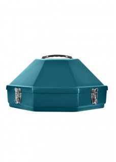 Classic Western Hat Carrier-Teal