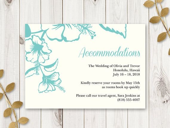 25 best Hawaii Wedding Invitations images on Pinterest