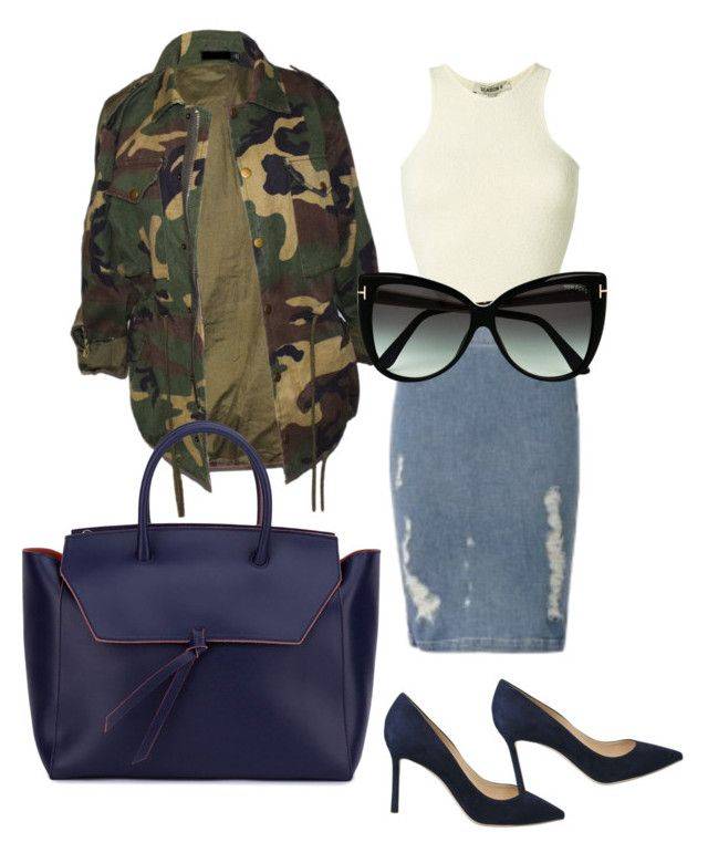 """""""Sans titre #109"""" by miachic on Polyvore featuring mode, Yeezy by Kanye West, Frame, Jimmy Choo, Alexandra de Curtis et Tom Ford"""