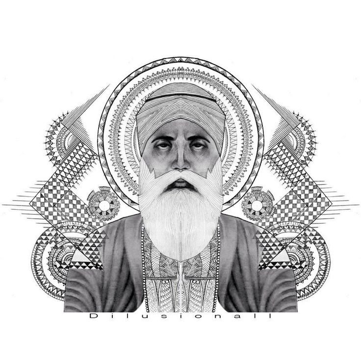 My Back Piece October 2012 Center Symbol Is The Sikh: 17 Best Images About Sikh Art On Pinterest