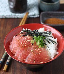 сашими из тунца рецепт риса
