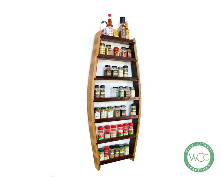SPICE RACK Big Thyme Extra Large Spice by winecountrycraftsman